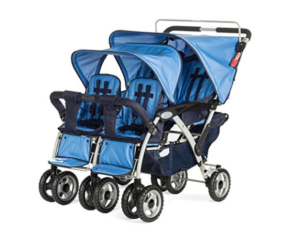 Child Craft Sport Multi-Child Quad Stroller