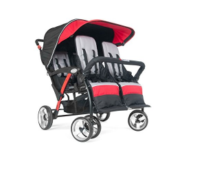 Foundations Infant Toddler Sport Splash 4 Passenger Quad Stroller