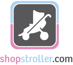 shopstroller pink blue logo